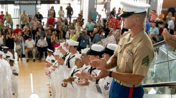 Honor Flight San Diego WELCOME HOME – Oct. 1